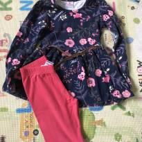 Conjunto Brandili Rosa - 6 anos - Brandili e Azul e Rosa