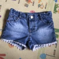 Shorts Jeans - 1 ano - Só meninas e C&A