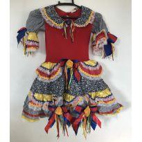 Vestido Festa Junina - 6 anos - Tango Fashion e vestido festa junina