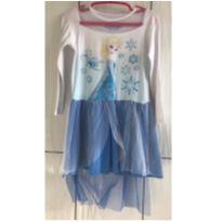 Camisola / Pijama Elsa Frozen - 4 anos - Riachuelo e Frozen