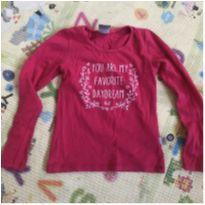 Camiseta Manga Longa Pink - 4 anos - KELLY & KETY