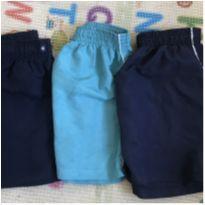 Lote de bermudas/shorts tactel - 4 anos - Fuzarka e Bambini