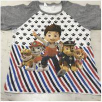Pijama / Camiseta Patrulha Canina - 4 anos - Patrulha