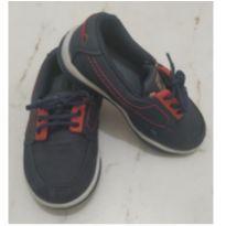 Sapato / Mocassim Azul - 22 - Sem marca