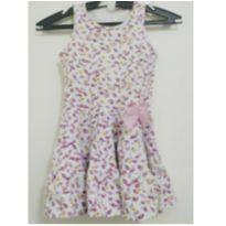 Vestido Floral - 4 anos - Gueda