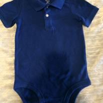 Body Polo Carters Azul 24 meses - 24 a 36 meses - Carters - Sem etiqueta