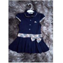 Vestido belíssimo !!BURBERRY ORIGINAL - 9 a 12 meses - Burberry inspired