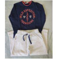 Conjunto inverno calça moletom e camiseta - 3 anos - Milon