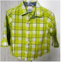Camisa Xadrez  6-12M - Gymboree - charme - 6 a 9 meses - Gymboree