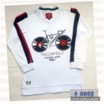 Camiseta Manga Longa 4T - linda - 4 anos - BD and Co
