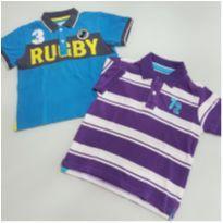 Lote menino 3 anos - camisas - 3 anos - C&A
