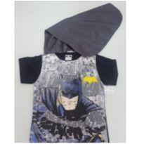 Camiseta fantasia -Batman-8 anos- capa removível - 8 anos - Marlan