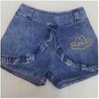 Shorts jeans Lilica Ripilica -  3T - lindo e conservado ! - 3 anos - Lilica Ripilica