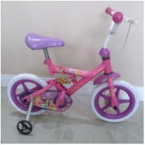 Bicicleta aro 12 - Princesas Disney - impecável - oportunidade! -  - Bandeirante