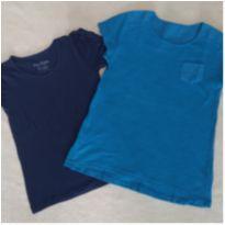 Lote 2 camisetas 8 anos - blusas - menina GAP kids - leve 2 pague 1 - 8 anos - Gap Kids e Rovitex Kids
