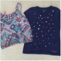 Lote 2 blusinhas Tommy Hilfiger - 6 anos leve 2 pague 1 - 6 anos - Tommy Hilfiger e Kely & Kety