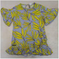 Bata-blusa linda 6 anos Green - usada 1 vez! - 6 anos - Green