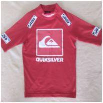 Camiseta de praia proteção solar Quiksilver - 6 anos - oportunidade