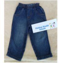Calça jeans baby 9 a 12 meses - oportunidade! - 9 a 12 meses - Não informada