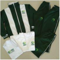 Conjunto uniforme escolar colegio COC  - tamanho 7 a 8 anos - oportunidade! - 7 anos - MARCO TEXTIL TEEN E NAO I