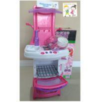 Cozinha infantil casinha master Chef Cook Magic Toys NOVA NA CAIXA -  - Magic Toys