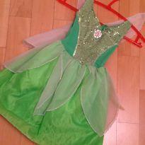 Fantasia Tinker Bell( Sininho) - 3 anos - Importada
