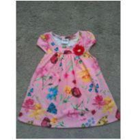 Vestido floral - 6 a 9 meses - Fakini
