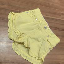 Shorts amarelo - Levi's - 18 a 24 meses - Levi`s
