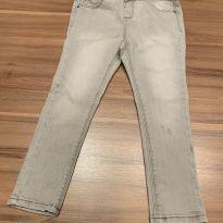Calca Zara - jeans cinza - 3 anos - Zara Baby