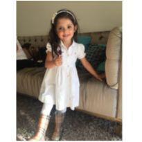 Vestido Ralph Lauren - branco - 2 anos - Ralph Lauren