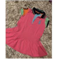 Vestido colorido Ralph Lauren - original - 3 anos - Ralph Lauren
