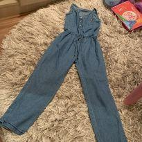 Macacão jeans - 4 anos - Hering Kids