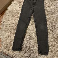 Jeans cinza strech - Zara original - 4 anos - Zara Baby