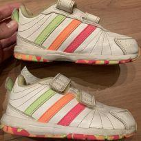 Tênis Adidas Flúor Multicolorido, original.