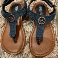 Sandália jeans Michael Kors - Original