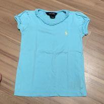 Camiseta Ralph Lauren azul - original - 4 anos - Ralph Lauren