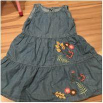 Vestido Jeans lindo - 4 anos - Palomino