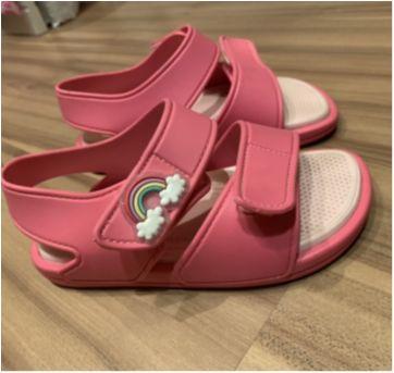 Sandália pink- Confortável - 26 - pinpollho