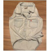 Camisa jeans verão - 4 anos - Hering Kids