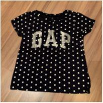 Camiseta Poá - GAP Original - 5 anos - Baby Gap