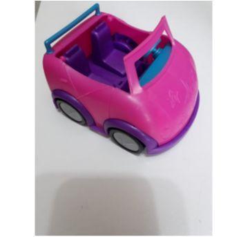 12 Pollys com Carro, Acessórios e Cenário Parcial - Sem faixa etaria - Mattel