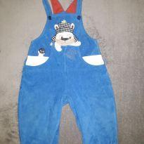 Macacão azul - 9 a 12 meses - Alphabeto