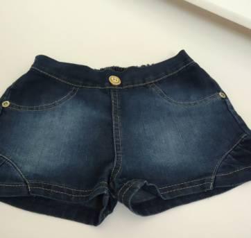 Short Jeans - 2 anos - Carinhoso