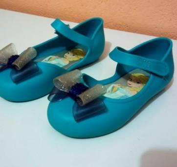 Sapatilha da Frozen Azul - 25 - Grendene