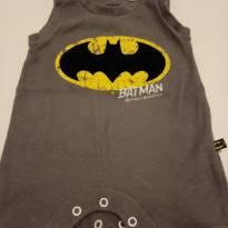 Macaquinho Batman LINDO! - 0 a 3 meses - DC Comics