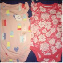 Kit body Gap - 3 a 6 meses - Baby Gap