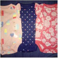 Kit body Gap!!! - 3 a 6 meses - Baby Gap