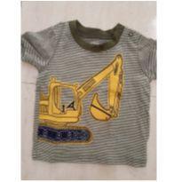 Camiseta trator Carters - 9 meses - Carter`s