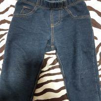 Calça imitando jeans Carters - 1 ano - Carter`s