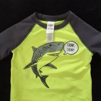 Camiseta praia/piscina Oshkosh - 9 a 12 meses - OshKosh